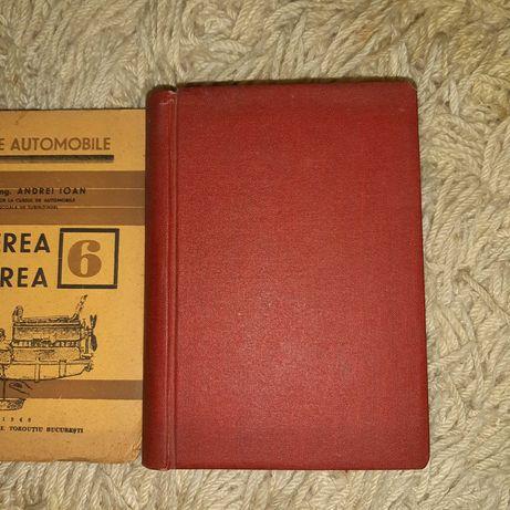 Curs de automobile 1946 autor Comandor Inginer Andrei Ioan