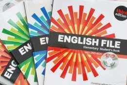 English File and New English File все уровни