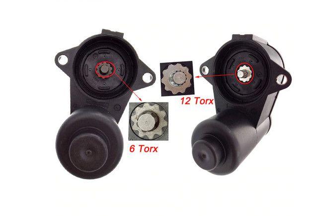Motoras motor frana de mana etrier NOU 6 / 12 dinti VW AUDI SEAT