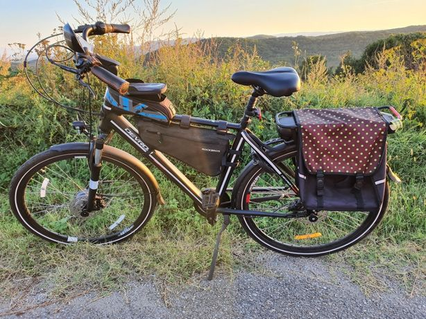 Bicicleta Electrica Devron 28127 Negru L 28 Inch garantie ca noua