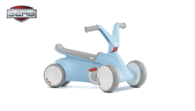 Kart cart cu pedale Berg GO 2 Roz pentru copii. Bicicleta copii mici