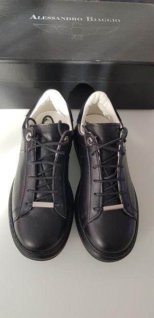 Sneakers din piele Noi fete mar 36 noi