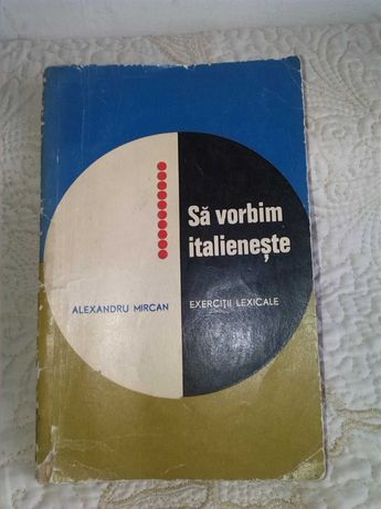 Vand conversatii in limba Italiana cu exercitii lexicale   la 25 lei