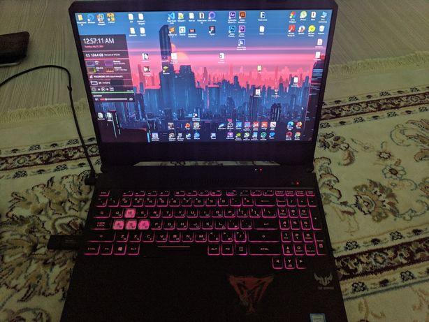 Ноутбук игровой Asus Tuf fx505 c GTX1060