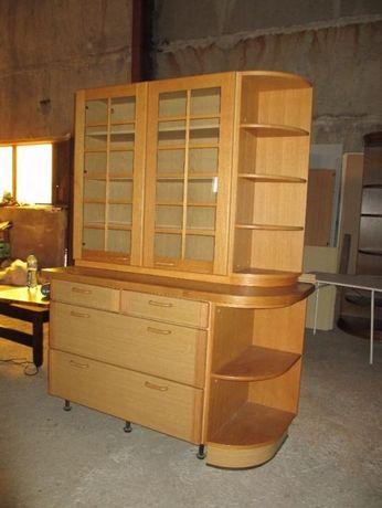 Кухненски шкаф с витрина за закачване.Внос от Германия. №3319