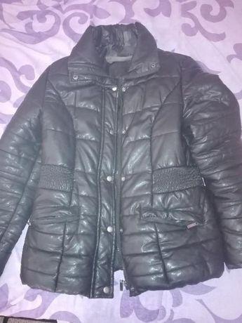Дамско зимно яке, плюшен елек