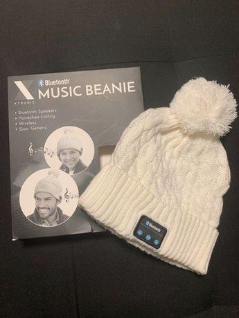 Bluetooth безжична музикална шапка Beanie шапка с микрофон и стерео сл