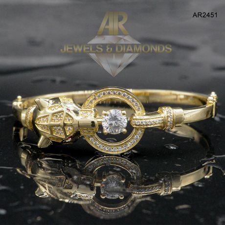 Bratara Aur 14 K model nou unisex ARJEWELS (AR2451)