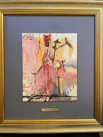 Salvador  Dali certificat de autenticitate