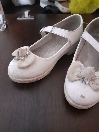 Туфли белый мектепке