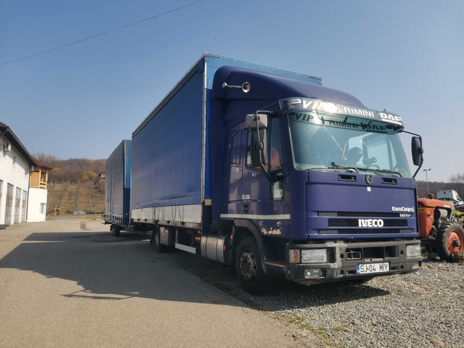 Iveco Eurocargo Tector+REMORCA