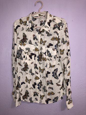 Риза на пеперуди Stradivarius