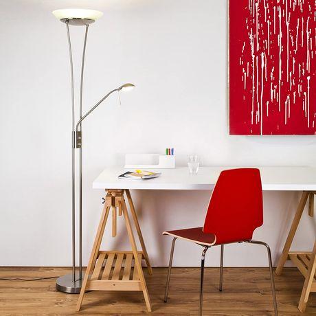 LED Подова лампа Balthasar 18W 1600 Lumen с лампа за четене с 380