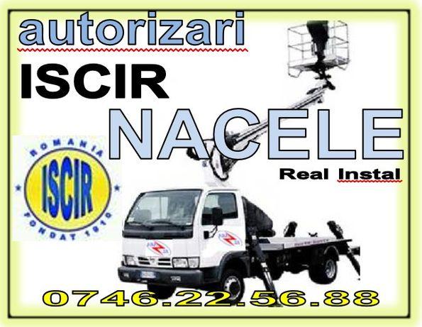 Autorizare ISCR Nacele, autorizari Iscir echipamente, operator RSVTI