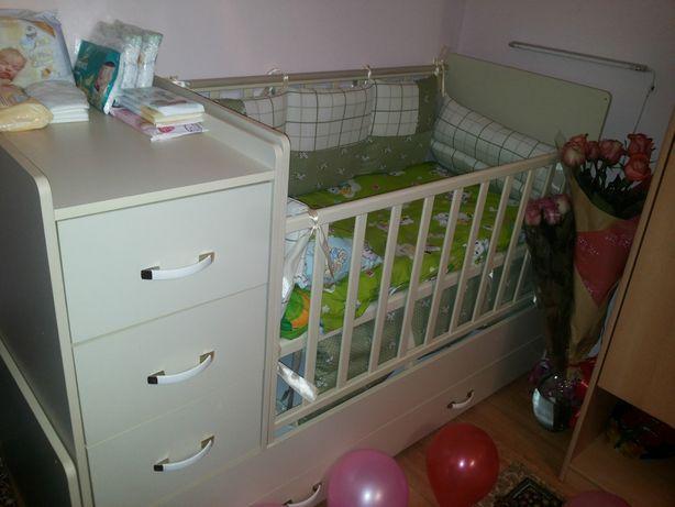 Манеж, детская кровать трансформер
