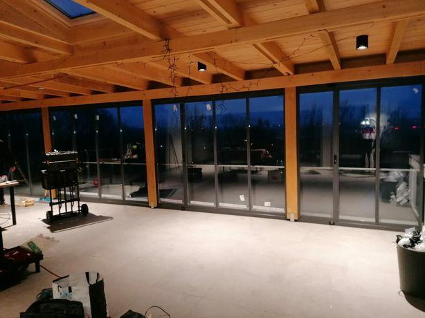 Inchideri terase balcoane foisoare cu sticlă securizată