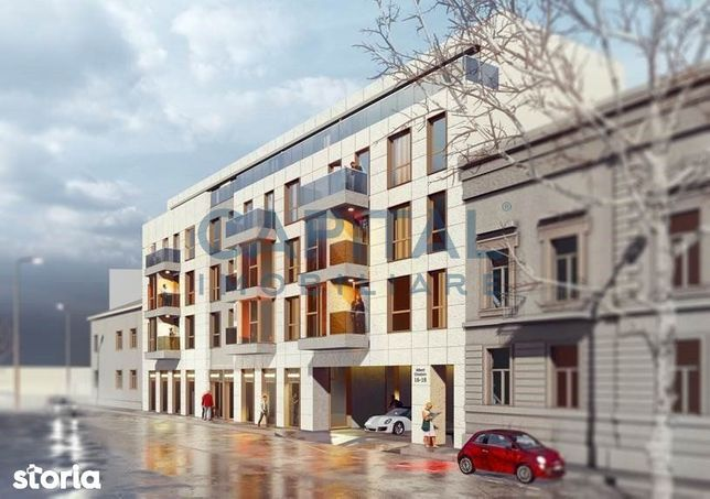 Apartament central 3 camere,2 locuri de parcare,predare decembrie 2021