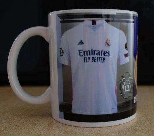 REAL MADRID! Уникална Фен Чаша на Реал Мадрид с Ваше Име и Номер!