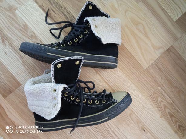 Converse ghete îmblănite