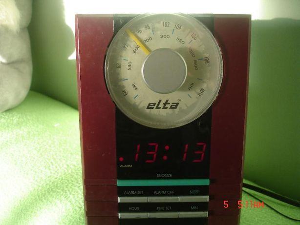 Radio cu ceas-elta-
