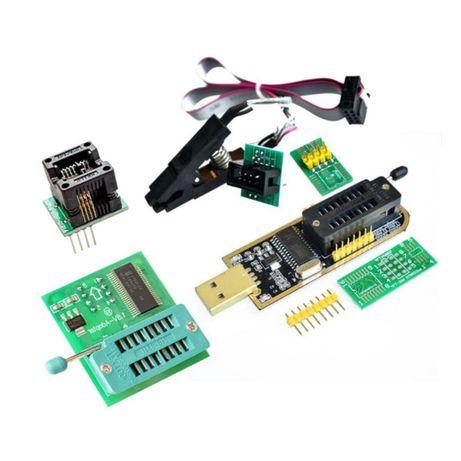 Programator EEPROM 24/25 CH341A Flash BIOS SOIC8 SOP8 DIP8