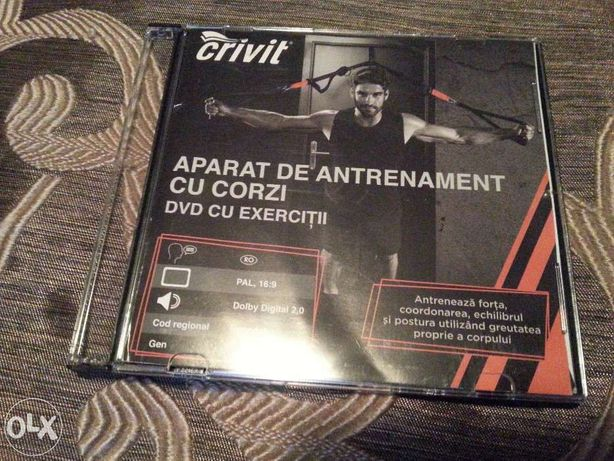 Dvd original exercitii TRX