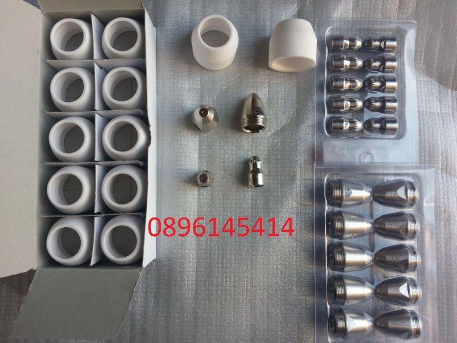 Дюзи, електроди и керамики за плазма CUT 60, 100 , 120 А