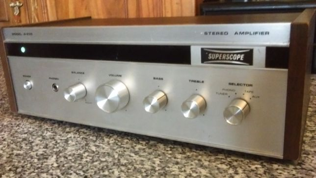 Amplificator Superscope by Marantz A-235 vintage 1973