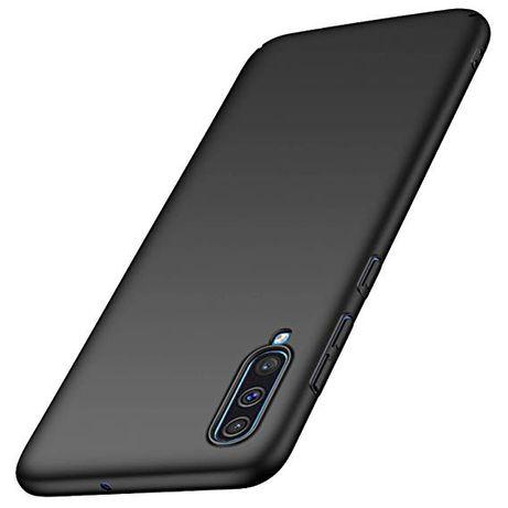 Samsung A10 A20e A40 A50 A70 A80 A90 Husa Silicon Slim Clara / Neagra