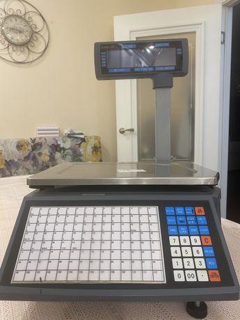 Продам Электронные весы с печатью этикеток