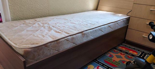 Детский и подростковый кровать с матрасом  205см ×85см