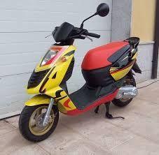 Мотоцикет,скутер Априлия соник 50(Aprilia sonic 50cc );- на части