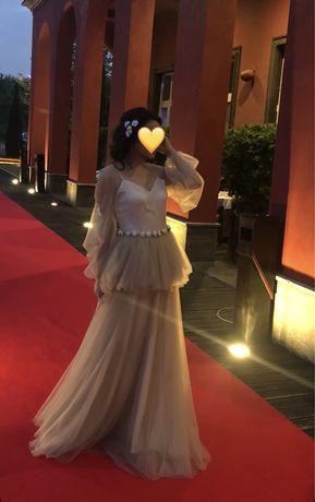 Платье вечернее. На узату