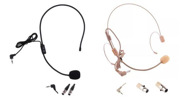 Microfon tip casca ( headset , lavaliera ) jack , mini xlr , 3/4 pini