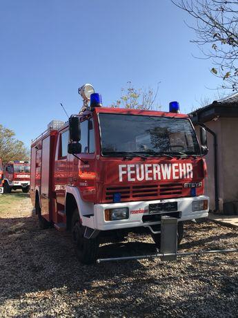 Masina de Pompieri Steyr-Mercedes apa+spuma tractiune 4*4 autospeciala