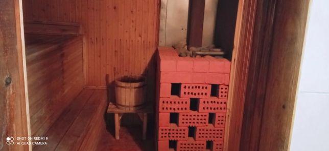Баня на дровах для семейных,отличный пар