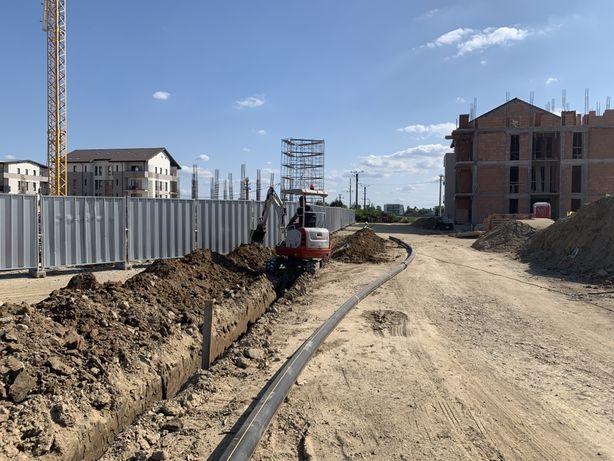 Sapaturi(inchiriere) miniexcavator,fundatii,fosa,decopertat,apa,canal