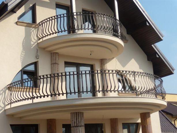Balcon fier forjat,B001,de mare spectaculozitate