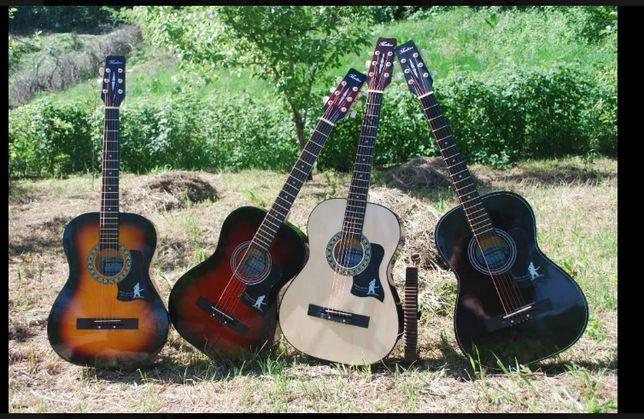 гитары разный и укулели