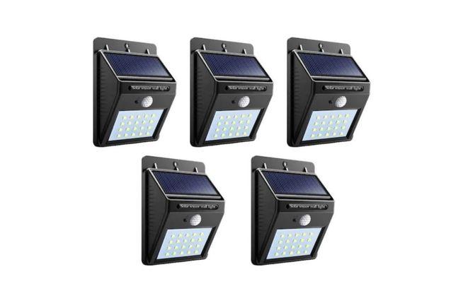 Set 5 Lampi Solare 30 Leduri