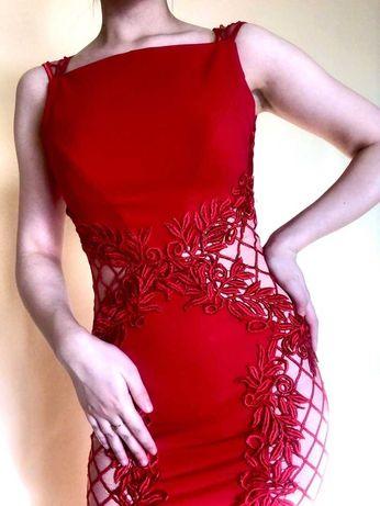 Женское элегантное вечернее платье