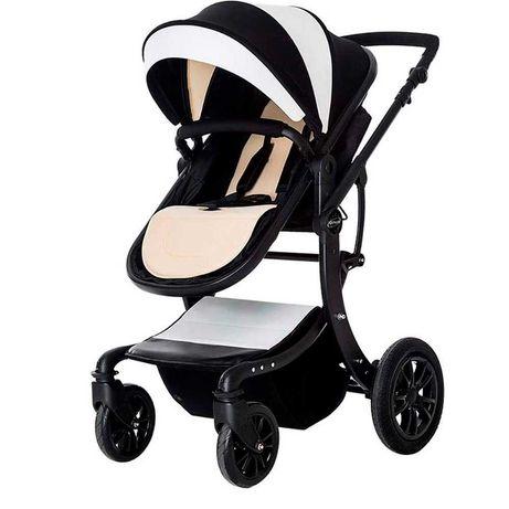 Детская коляска Aimile 2в1 Черно-белый  коляски трансформер Алматы