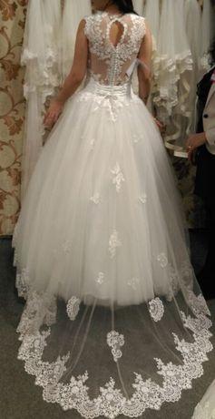 Rochie mireasa masura universala corset