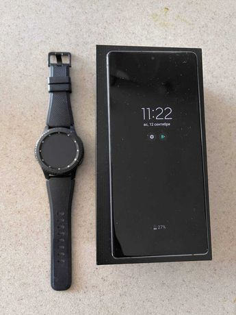 Samsung Galaxy Note 20 + samsung gear s3 frontier  (160+30)