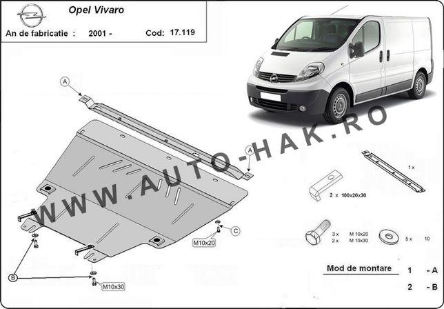 Scut motor metalic Opel Vivaro 2001-2014