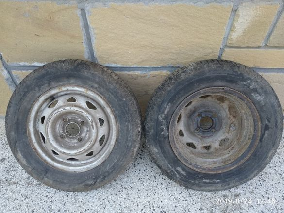Автомобилни гуми с джанти 13/155/80