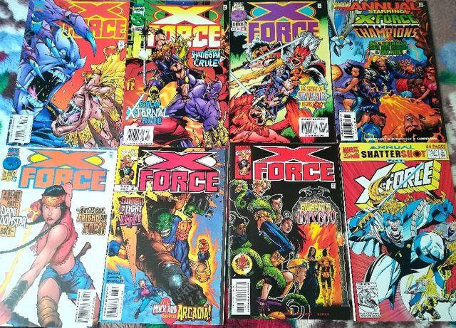X-FORCE (Marvel comics)-Lot 5 reviste benzi desenate
