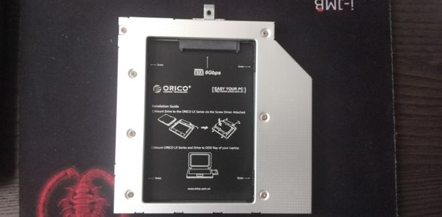 Adaptor HDD SATA , CD / DVD-Rom Caddy Orico LX Series