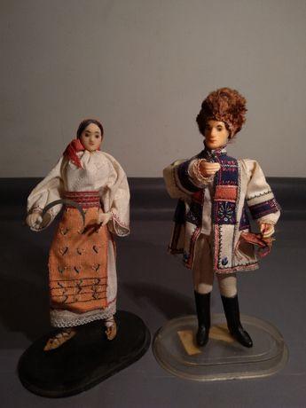 Papusi in Costum Popular Romanesc - De Colectie