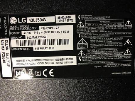 Piese Televizor LG 43LJ594V
